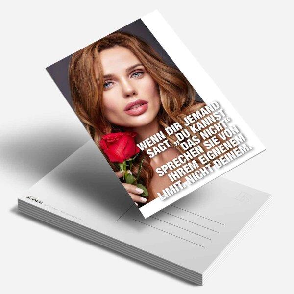 Postkarte Wenn dir jemand sagt