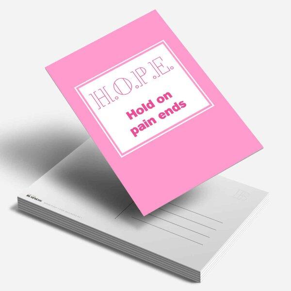 Postkarte HOPE