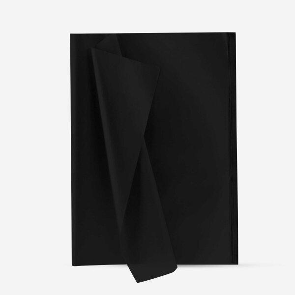 Seidenpapier schwarz 20er Set