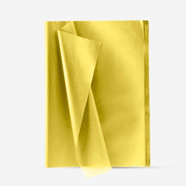 Seidenpapier gelb 20er Set