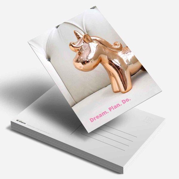 Postkarte Dream. Plan. Do.
